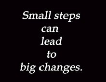 The power of small steps